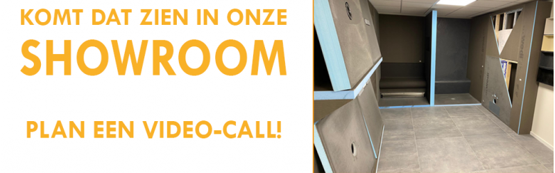 Showroom bezoeken? Plan een video-call!